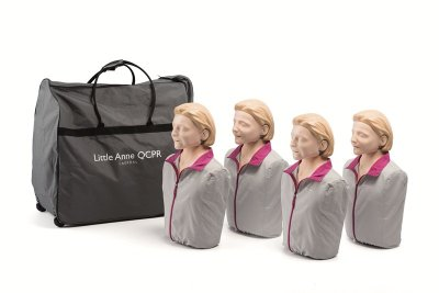 Little Anne QCPR, 4-pack