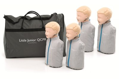 Little junior QCPR, 4-pk